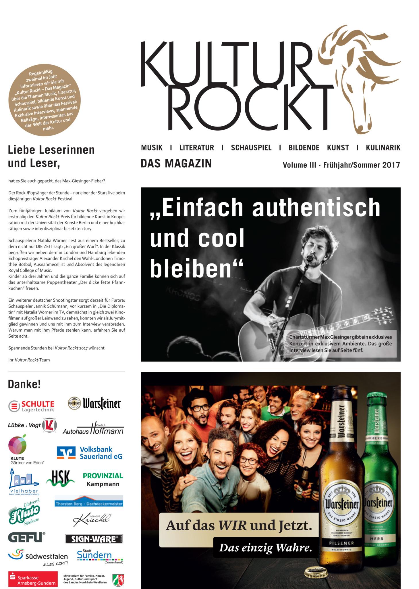 Kultur Rockt – Das Magazin Vol.III